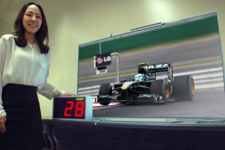 LG presume de bajo consumo en su nuevo televisor de 47 pulgadas