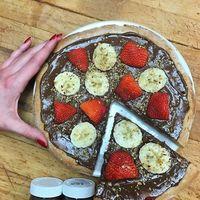 Sí, la pizza de Nutella existe y hará realidad los sueños de todos los chocomaniacos