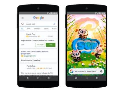 Pronto podrás probar juegos directamente desde las búsquedas de Google