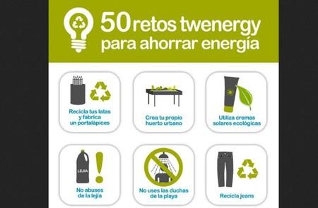 50 retos Twenergy para ahorrar energía, un refuerzo para nuestros buenos propósitos