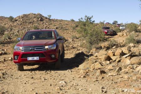 Toyota Hilux 2016 toma de contacto Namibia