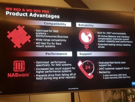 Algunas de las ventajas de los discos RED para NAS de WD