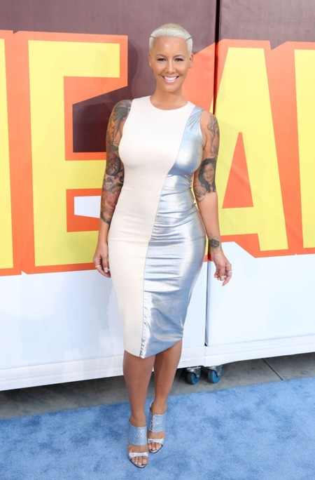 Amber Rose Mtv Movie Awards 2015