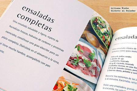 500 ensaladas. Libro de cocina