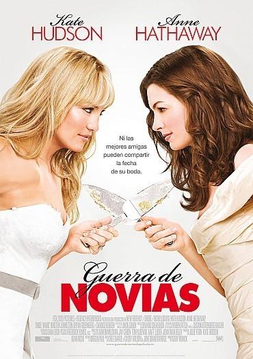 'Guerra de novias' ('Bride Wars'), póster y trailer