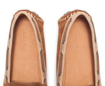 La primavera empieza por tus pies: los mocasines de Zara