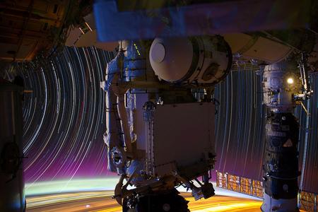 Fotografía con Star Trails desde el espacio
