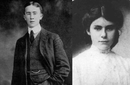 JRR Tolkien y Edith