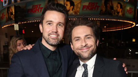 Rob Mcelhenney And Charlie Day