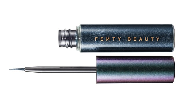 eyeliner purpurina navidad