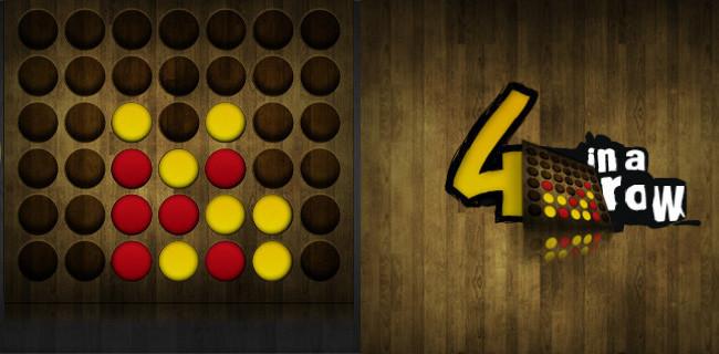 Juegos de mesa para iOS - cuatro en raya