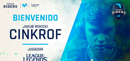 Cinkrof ficha por Movistar Riders. El jungla polaco regresa a la Superliga