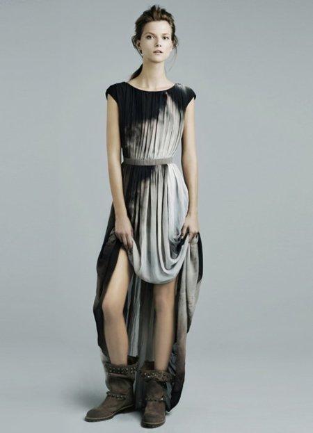 Vestido fiesta Zara lookbook noviembre
