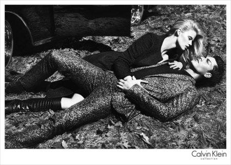 Calvin Klein campaña Otoño-Invierno 2012/2013 con su musa Lara Stone
