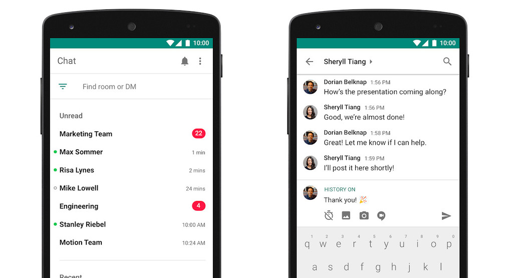 Google working on an app of communication for enterprises that unifies Gmail, Hangouts, and more, according to The Information