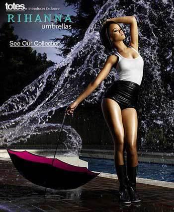 Rihana te propone como cubrirte del agua