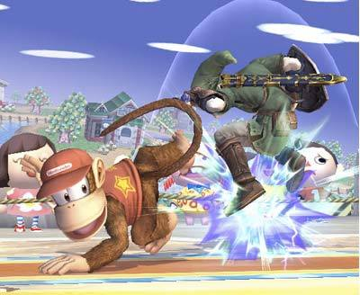 Diddy Kong se une al elenco de luchadores de 'Super Smash Bros. Brawl'