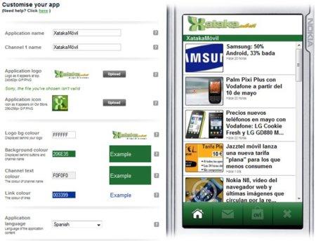 Ovi App Wizard, crea sencillas aplicaciones en minutos