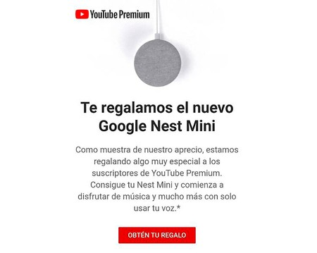 Youtube Regalo Nest Mini