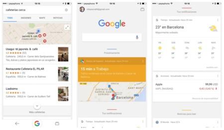 Google mejora su aplicación oficial en iOS con las páginas AMP y nuevas integraciones en el sistema