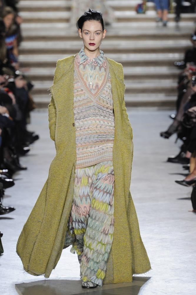 Missoni en la Semana de la Moda de Milán Otoño-Invierno 2011/2012: color boho chic