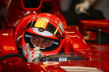 Schumacher volverá a probar con Ferrari en Jerez
