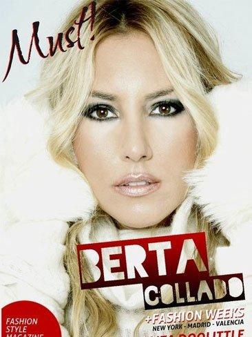 Berta Collado guapa no, lo siguiente en la portada de Must! Magazine