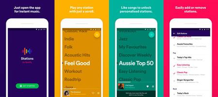 Probamos Stations by Spotify: simplificando al máximo la reproducción musical, para bien y para mal