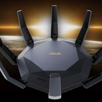 El Asus RT-AX89X parece una araña, pero es un router muy llamativo enfocado el mercado gaming que hemos visto en el CES 2020