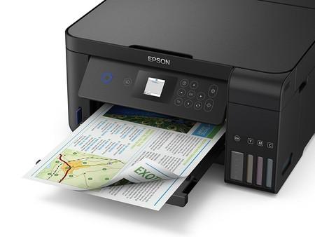 Impresora multifunción Epson EcoTank ET‑2750 a su precio más bajo: 319 euros y envío gratis