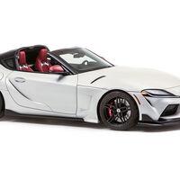 Este Toyota GR Supra Sport Top nos permite soñar con una versión targa del deportivo japonés