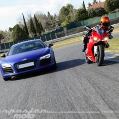 Foto 23 de 24 de la galería ducati-899-panigale-vs-audi-r8-v10-plus en Motorpasion Moto