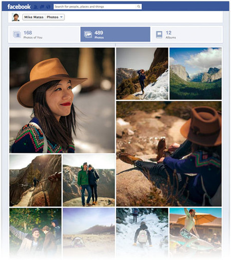 Facebook rediseña su timeline para mejorar el aspecto de las fotografías