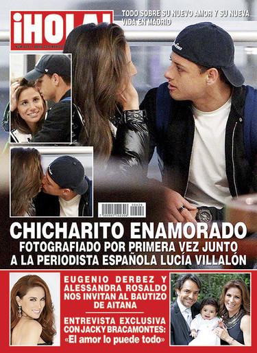 Lucía Villalón no se ligó a Cristiano Ronaldo, sino a Chicharito