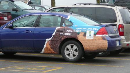 Coche a etanol
