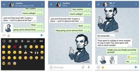 Telegram Stickers App