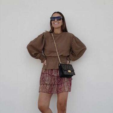 Paula Echevarría lo tiene claro: las minifaldas de volantes vuelven como tendencia de este otoño. Siete opciones para sumar a nuestro armario