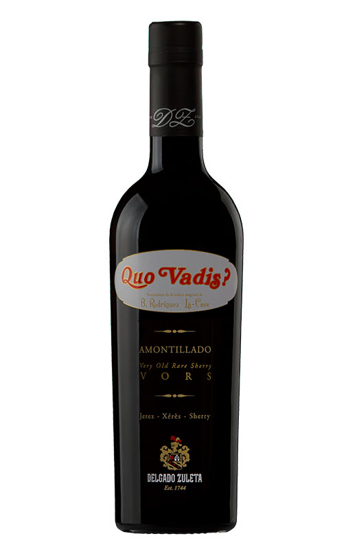 Quo Vadis Vors Amontillado. Bodegas Delgado Zuleta