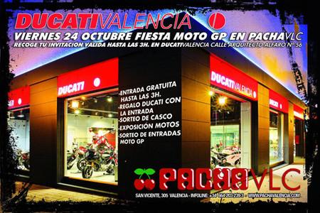 Fiesta Ducati Valencia Pacha