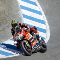 Superbikes Estados Unidos 2015: Chaz Davies pole en Laguna Seca