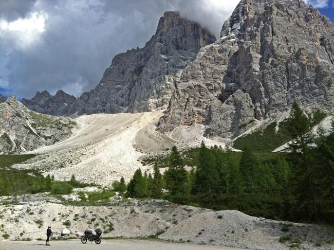 Jan, Paso Staulanza en los Dolomitas