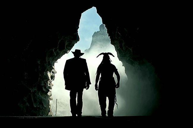 Armie Hammer y Johnny Depp son John Reid y Tonto