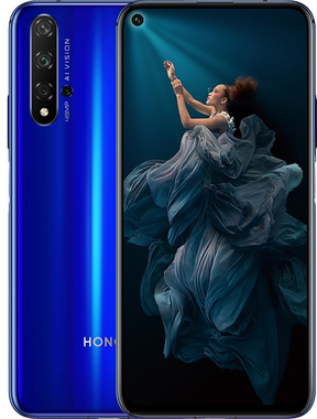 "Honor 20, 6.26"", 4G, 8N, 128 GB, Azul"