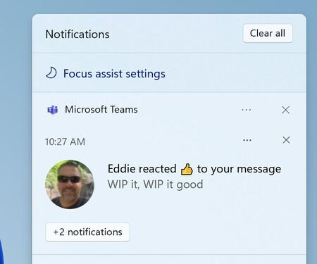 Focus Assist Settings Notifications