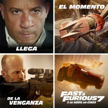 Montaje de fotos de Fast and Furious 7