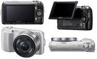 Llegan la Sony NEX-C3, NEX-7 y Alpha 77
