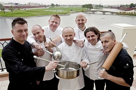 Evento gastronómico de lujo en Dubai