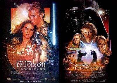 'El Ataque de los Clones' y 'La Venganza de los Sith' se reestrenarán en 3D en el 2013
