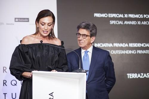 Porcelanosa entrega sus XI premios de Arquitectura e Interiorismo en una gala presentada por Nieves Álvarez