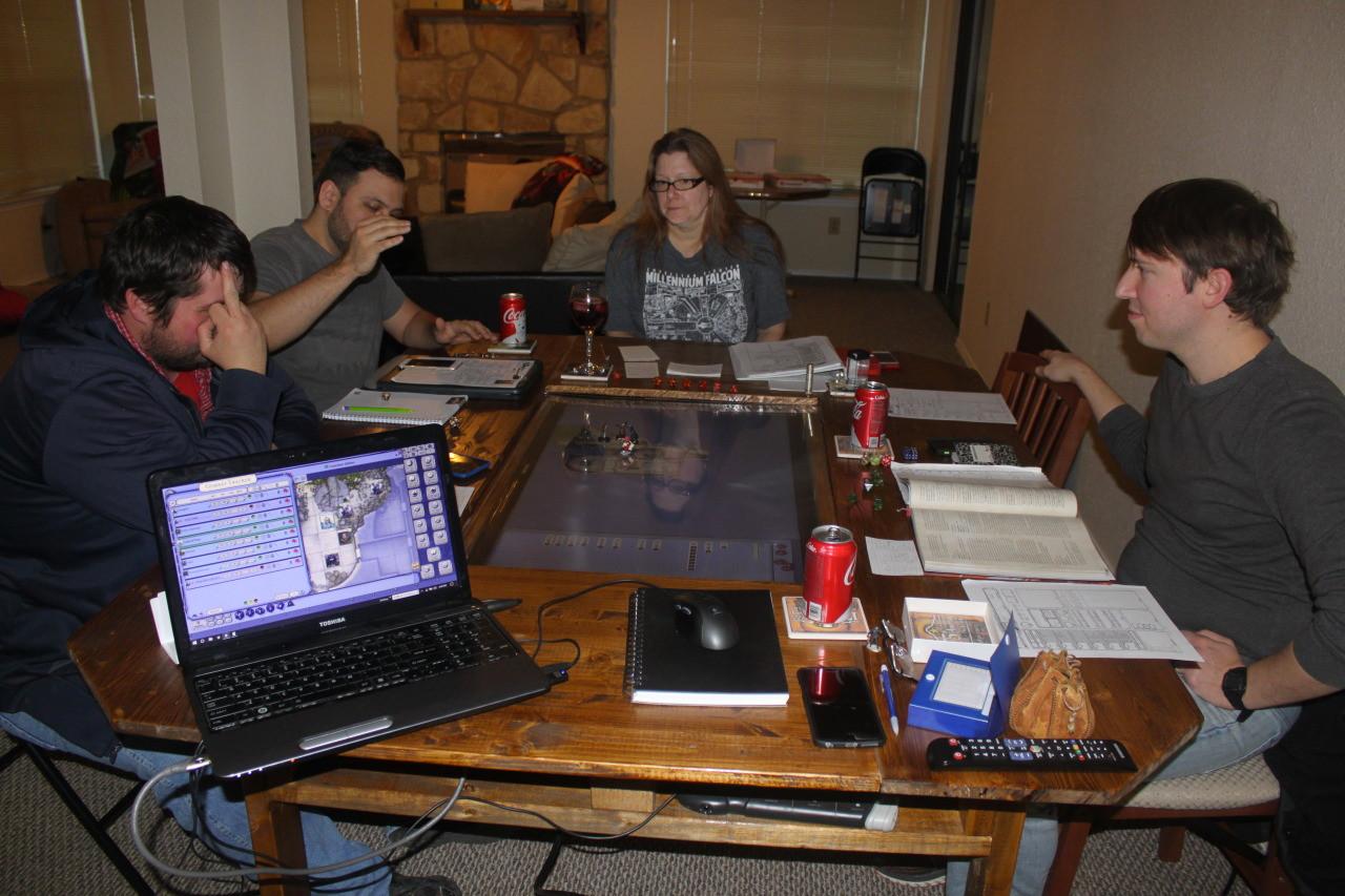 Foto de Mesa DIY 'Dungeons & Dragons' (8/8)